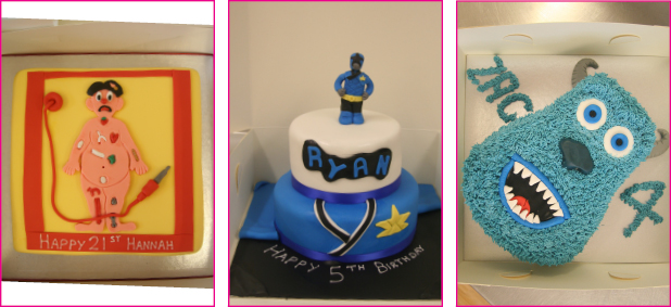 We are the Recommended Supplier to XFactor Celebration Cakes