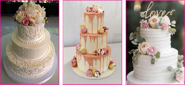 Licks Cake Design Edinburgh Wedding Cakes Cupcakes Scotland5